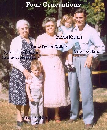 Great Grandma, Me, Grandma, My Little Sister, Dad