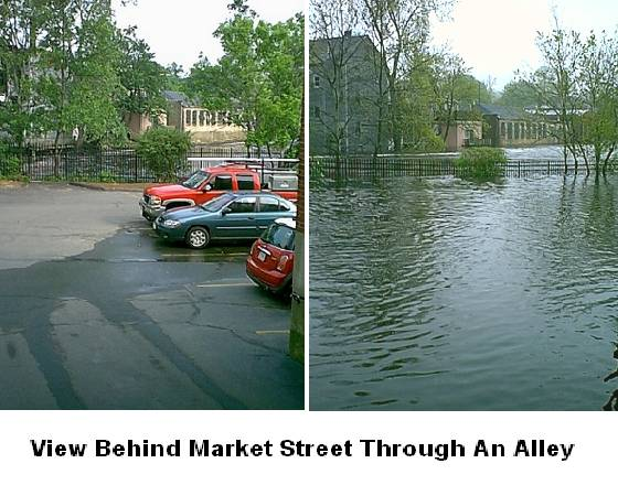 Normal and Flooded Back Lot