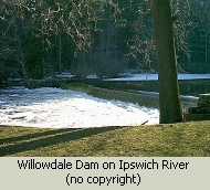 Photo of Willowdale Dam on Ipswich River